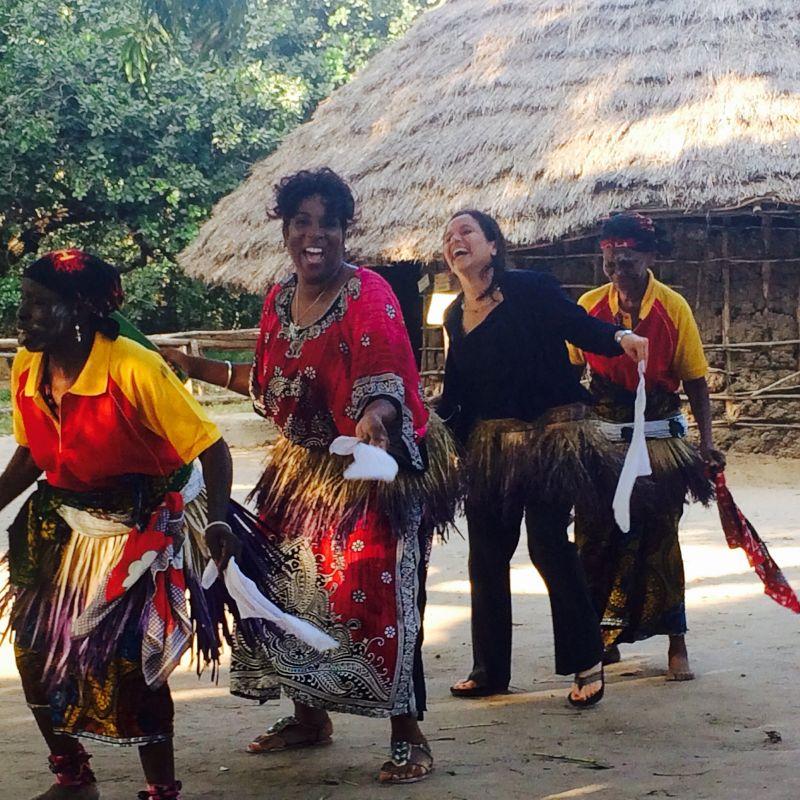 Village Dancing in Tanzania