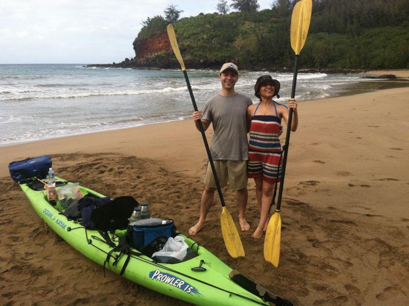 Ocean Kayaking in Hawaii