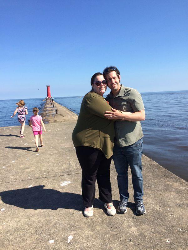 Visiting Friends Near Lake Michigan