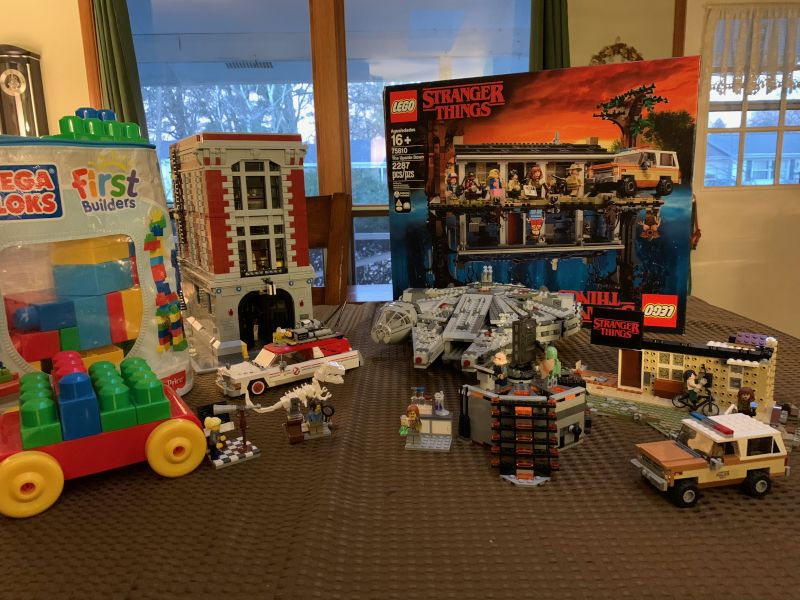 Our Ever Expanding Lego Universe With Baby's First Set of Legos!