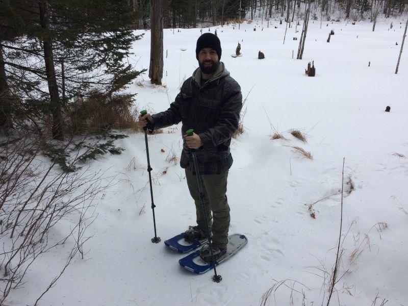 Snowshoeing in Wisconsin
