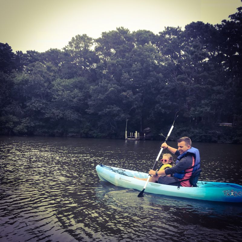 Paddling Around in Martha's Vineyard