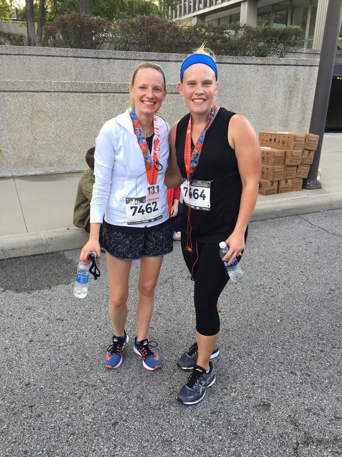 Kellie After a Half-Marathon
