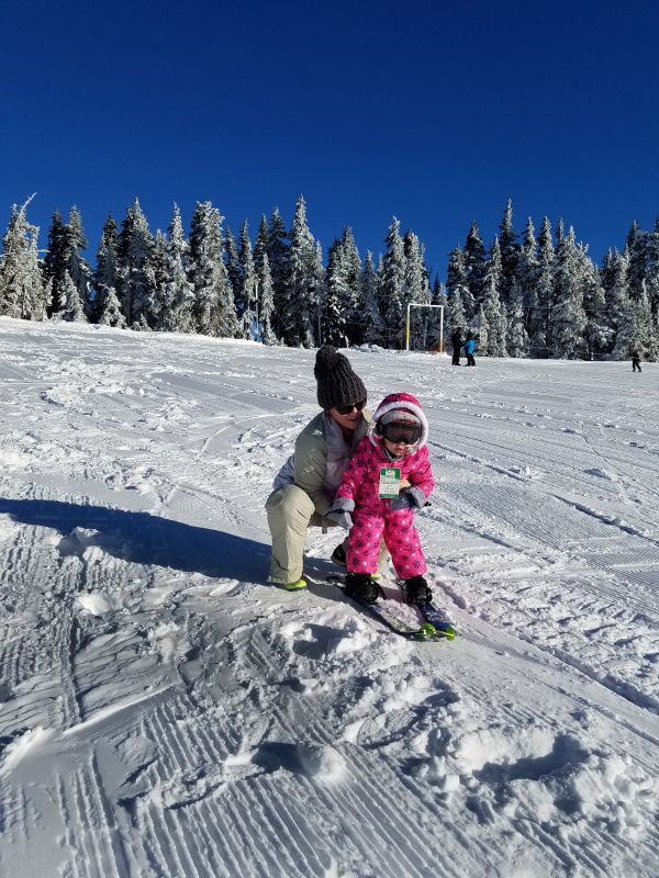 Skiiing With Mommy