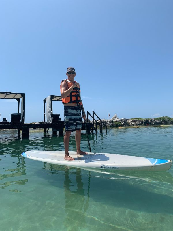 Paddle Boarding in Mexico