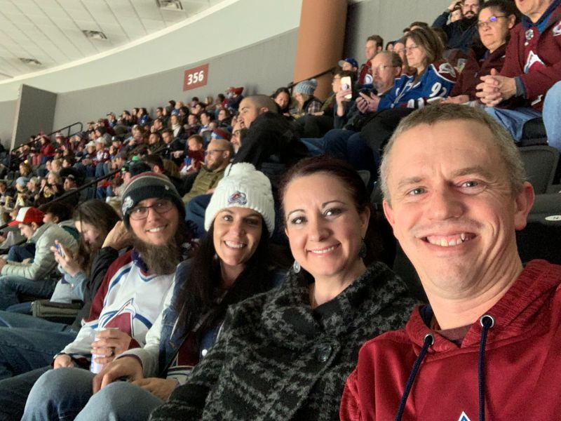 Hockey Game with Friends