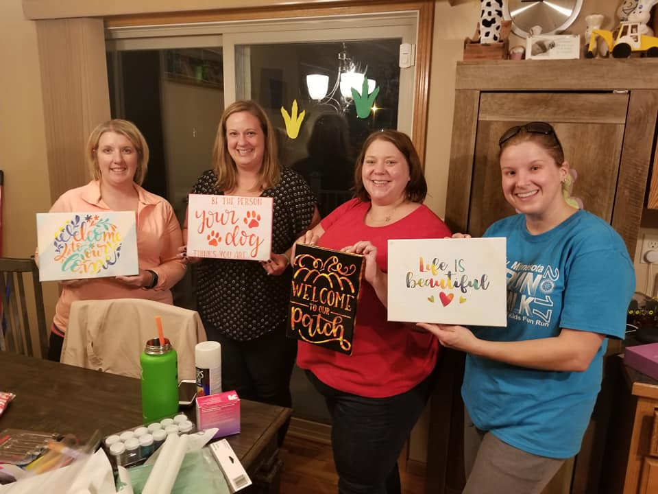 Craft Night With the Girls