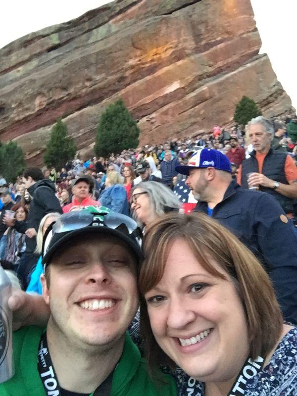 Concert at Red Rocks