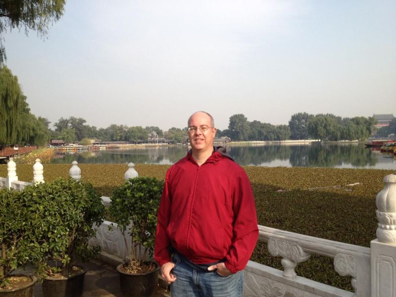 Clark in China