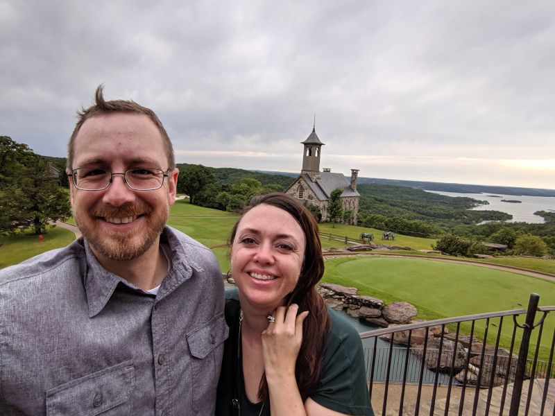 On Vacation at Top of the Rock
