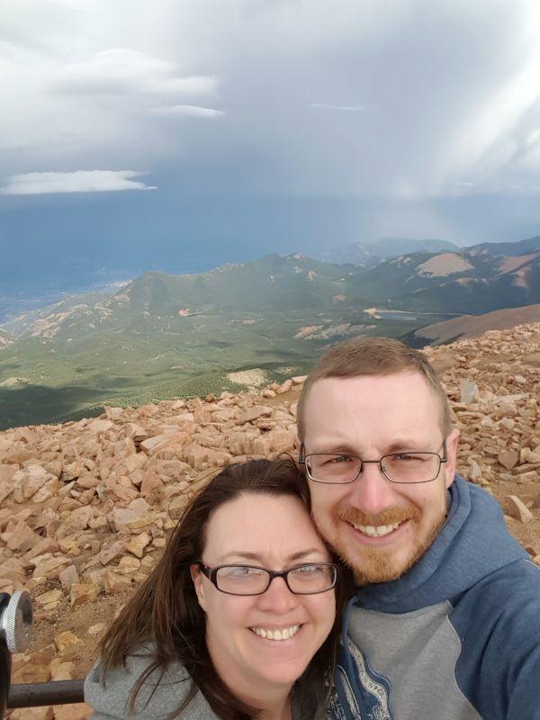 On Top of Pikes Peak!