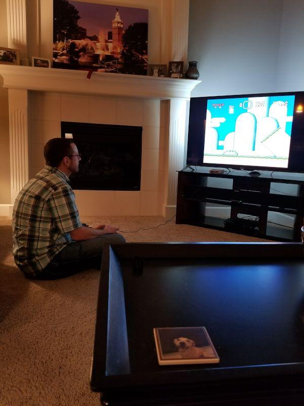 Stefan Playing Retro Games