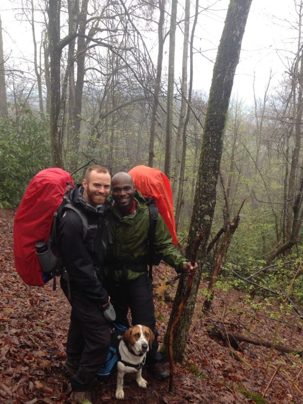 Smiling Through Rainy Day Backpacking