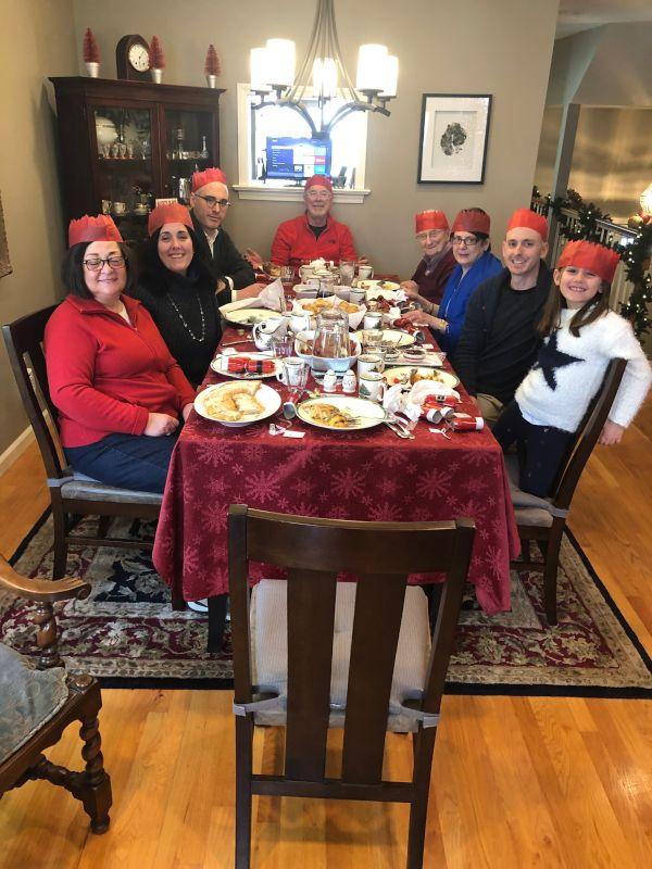 Christmas Brunch at Josh's Parents' House