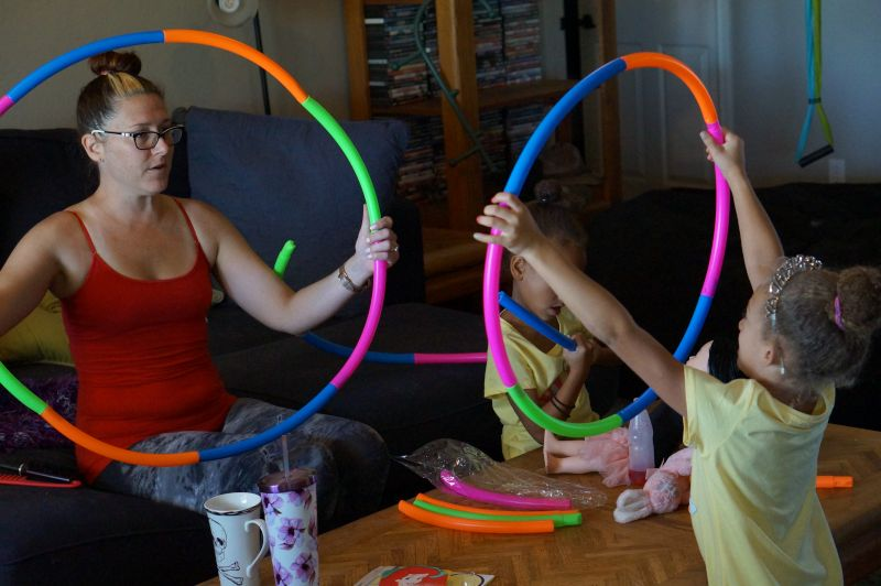 Building Hoops with Our Nieces