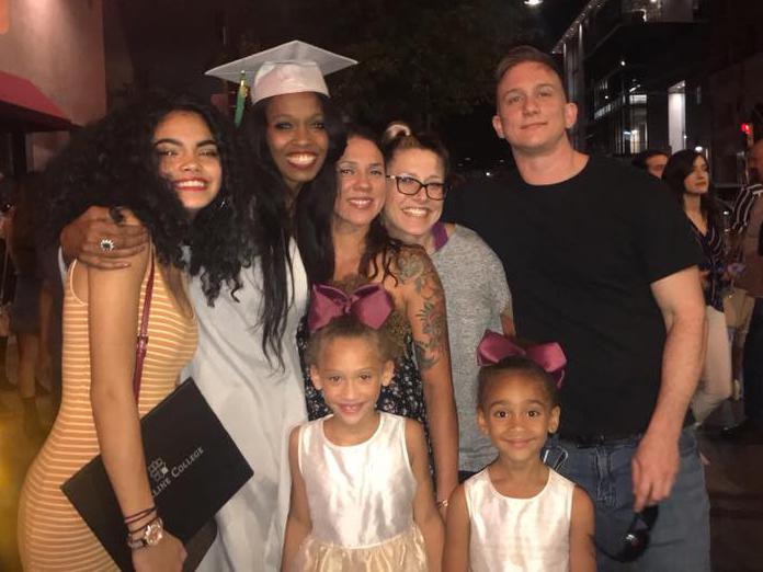 Our Niece's Graduation