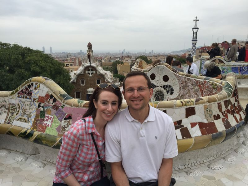 On Vacation in Barcelona