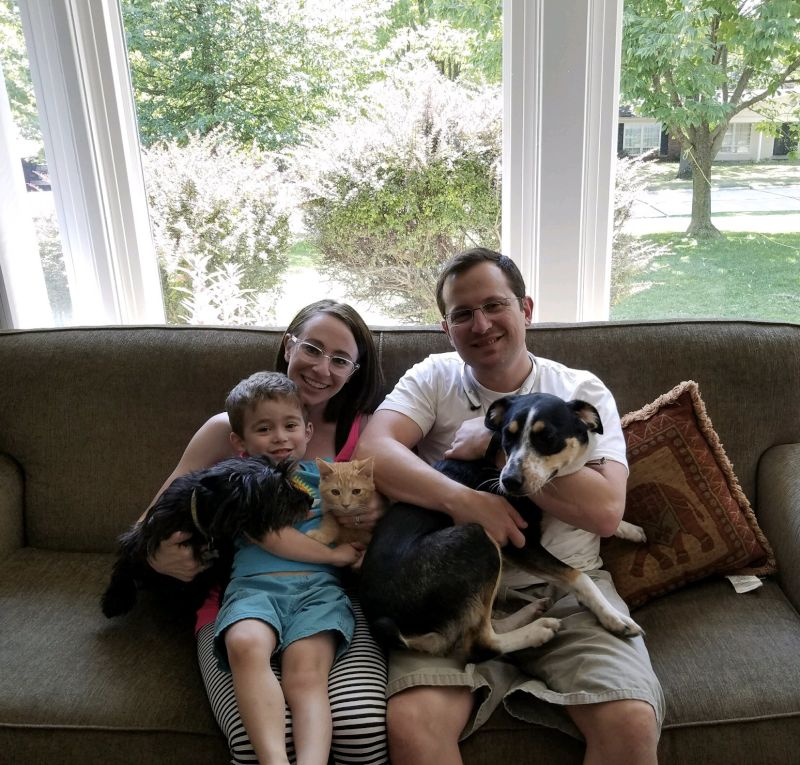 At Home With Our Pets
