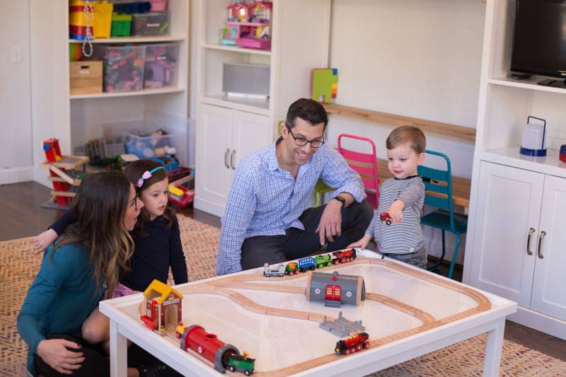 Our Favorite Room in the House is the Playroom