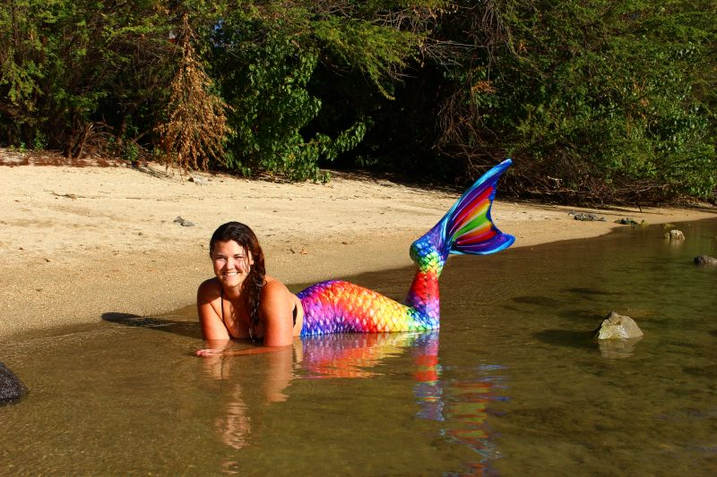 Bethany Living Out a Life-Long Dream to Be a Mermaid
