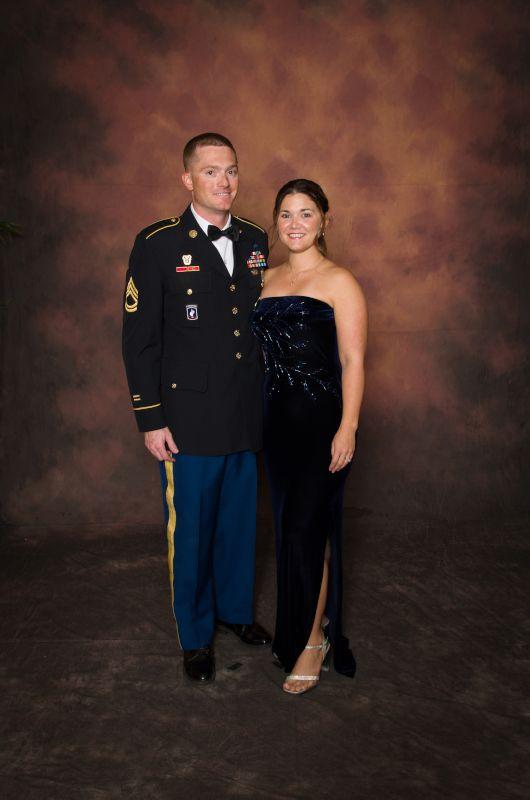 At a Military Ball