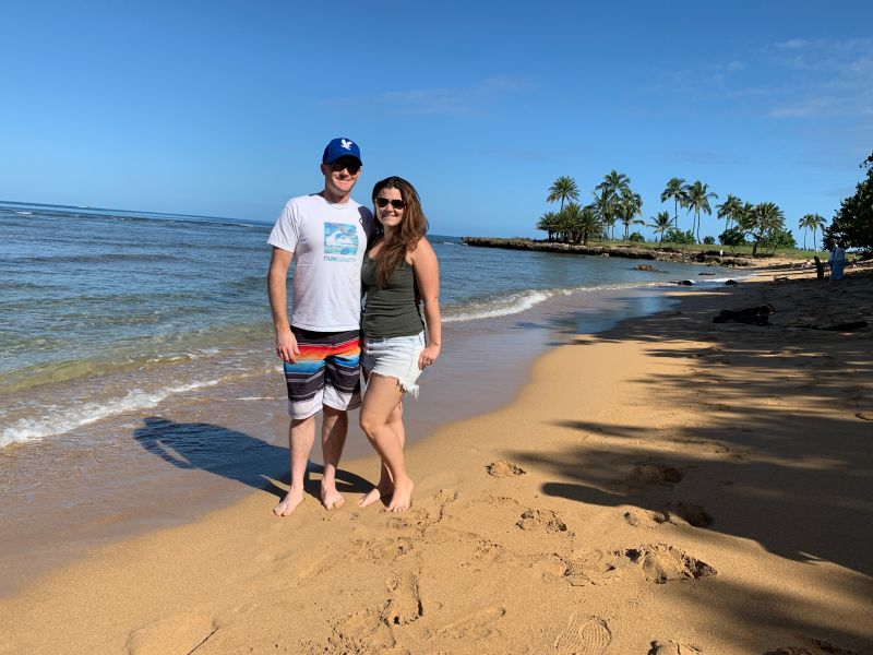 Visiting Haleiwa Beach