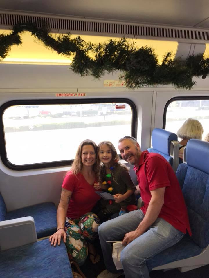 Annual Santa Train Ride