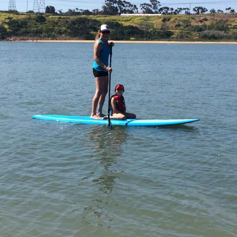 Jessie & Quinne Paddleboarding
