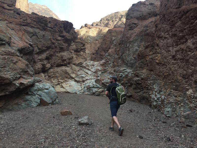 Hiking Through the Canyon