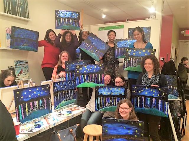 Paint Night With Friends