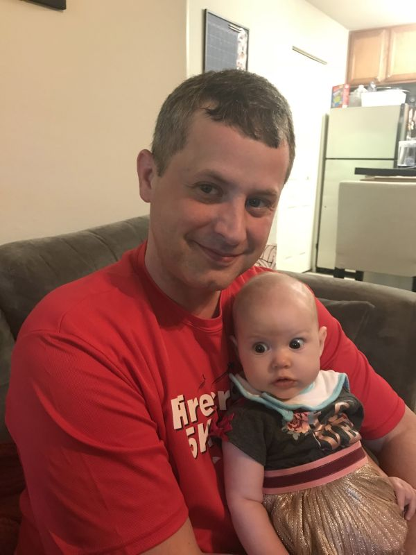 Natalie with Papa