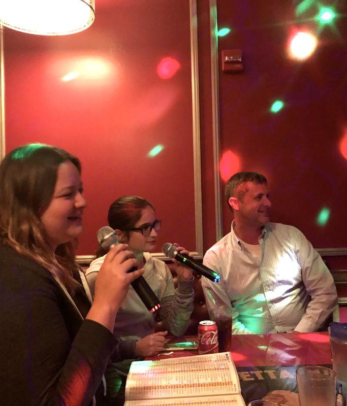 Karaoke with Ginny