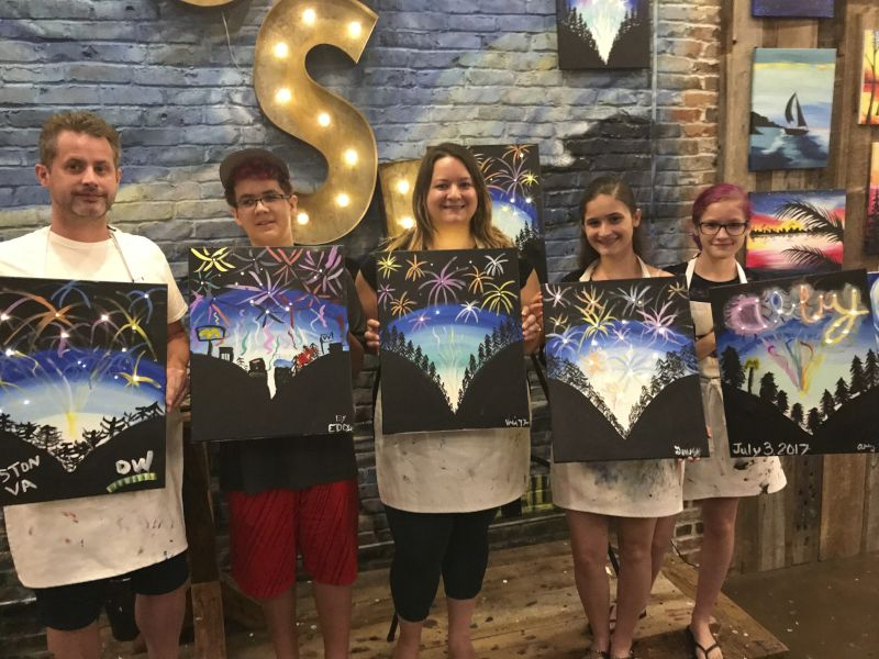 Family Paint Night