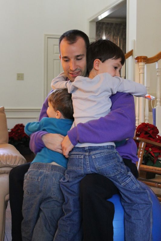 Hugs From Our Nephews