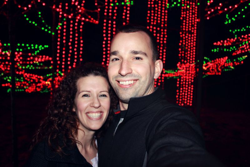 Walking Through Seven Miles of Christmas Lights