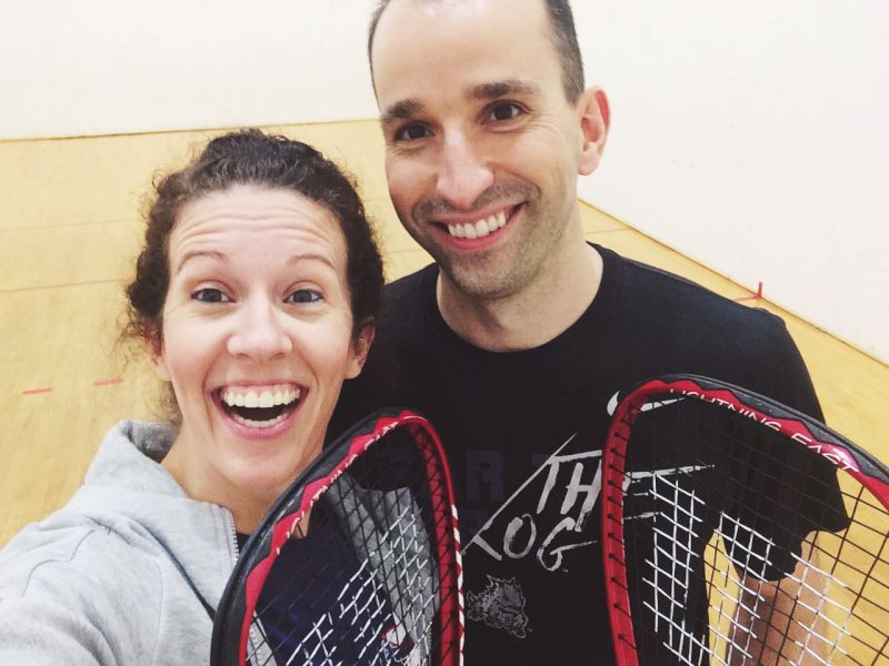 Racquetball Date Night