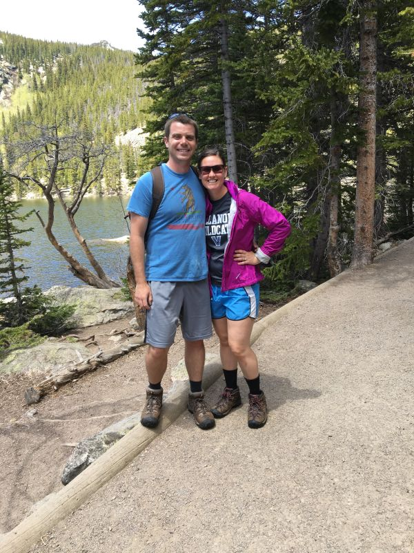 Hiking in Colorado For Our Fifth Wedding Anniversary
