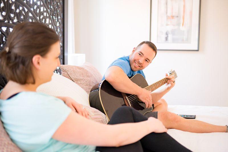 Seth Playing Guitar