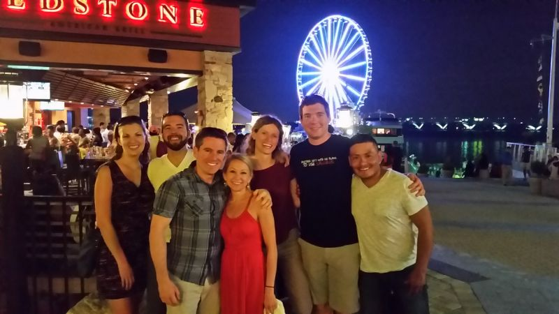 Dinner With Friends at the National Harbor