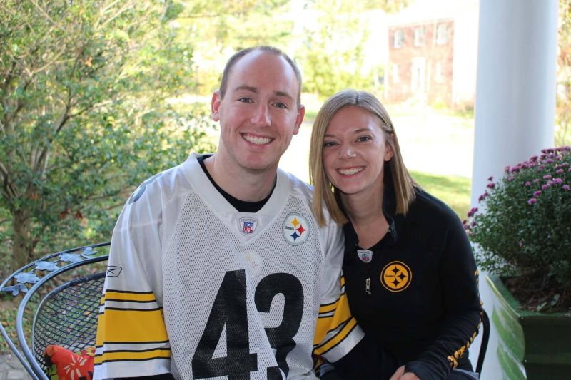 Ready to Cheer on the Steelers!