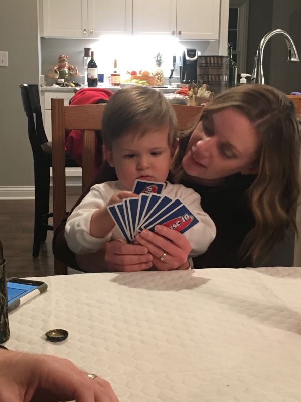 Playing Cards with the Family