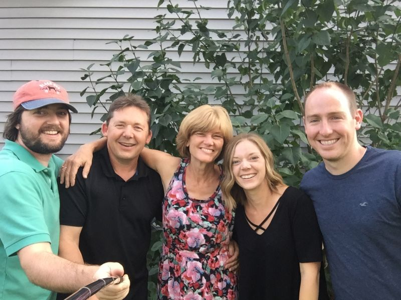 A Fun Visit with Emily's Family