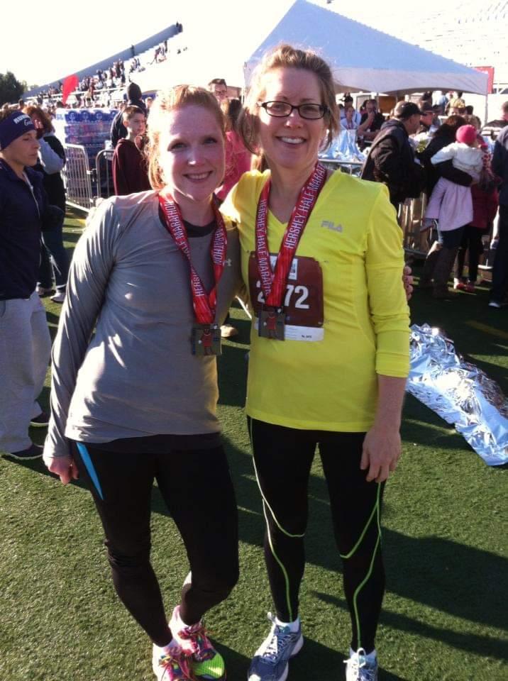 Sarah After a Half-Marathon