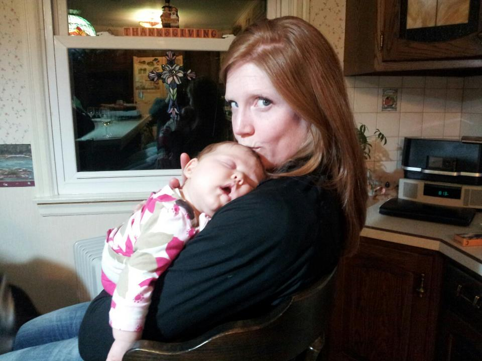 Sarah With Our Niece
