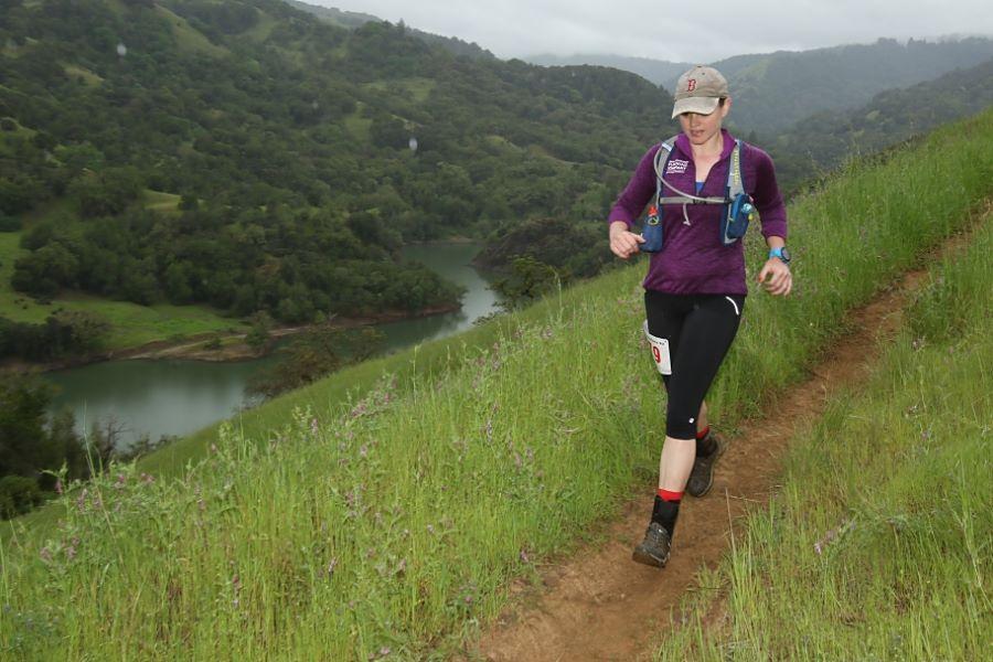 Kim on a Trail Run