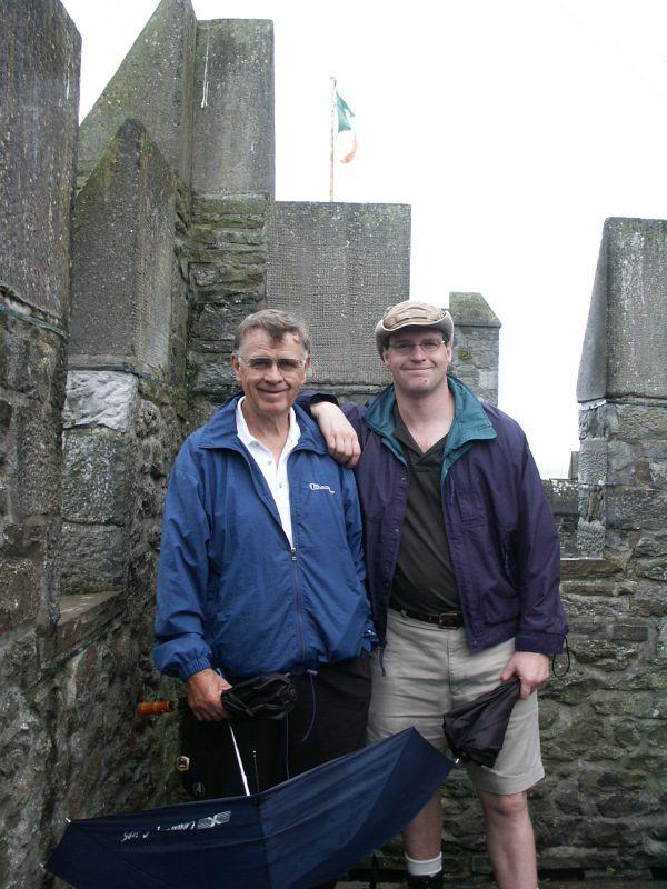 Exploring Ireland with Brian's Dad