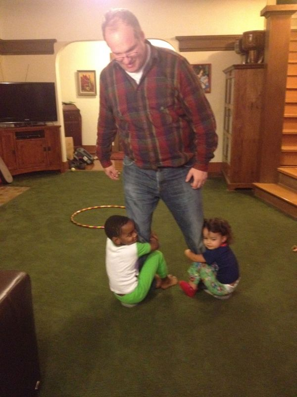 Playing with Our Niece & Nephew