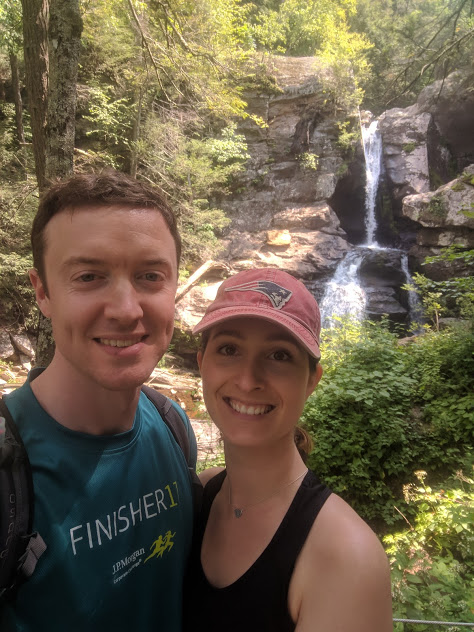 Hiking Up Waterfalls