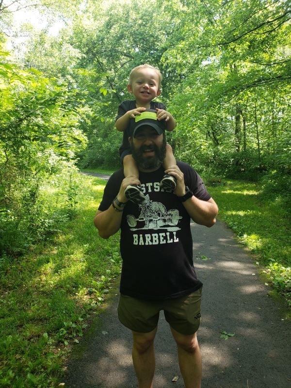 Father & Son Workout