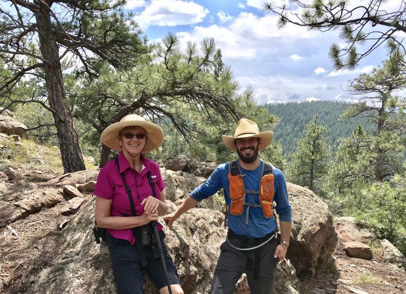Shea & His Mom on a Hike